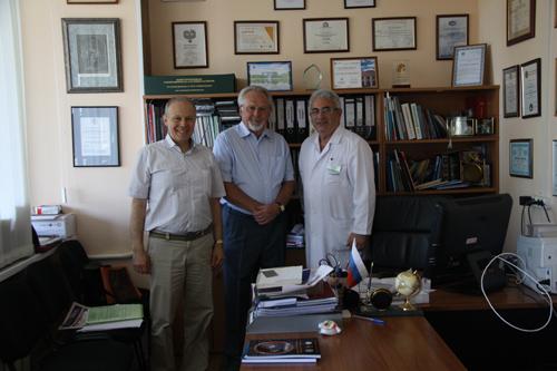 Встреча на кафедре обезболивания в стоматологии МГМСУ