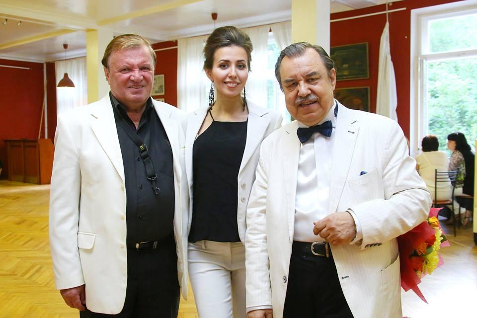 Владимир Лебедев(справа)