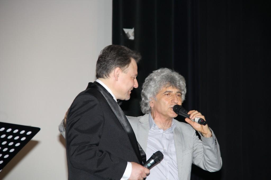 Геннадий Сорокоумов и Симон Осиашвили